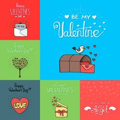 ROMANTIC VALENTINES DAY CARD WITH HEARTS