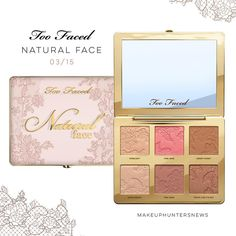 """Gefällt 1,263 Mal, 14 Kommentare - MakeUp Hunters (@makeuphuntersnews) auf Instagram: """"+++✨NEWS✨+++ . . . TOO FACED 👱🏼♀️ Natural Nudes Collection #naturalface Allrounder palette . TF…"""""""