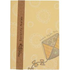 Kappa Alpha Theta New Sorority Notepad