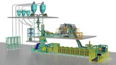Automated Mixing Line From Bainite Machines