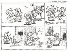 Retelling for Comprehension – Kindergarten Nana Retelling Activities, Fairy Tale Activities, Preschool Activities, Fables For Kids, Short Moral Stories, Fairy Tale Crafts, Story Sequencing, Sequencing Worksheets, Hansel Y Gretel