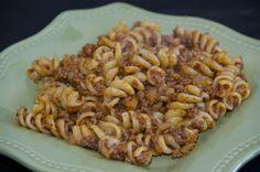 """Pasta """"Navy style"""" - макароны по-флотски - Delights Of Culinaria"""