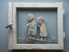 Pebble Art, Stone Art, Unique Wall Art, 3D Decor Art, New House Gift, Natural…