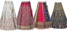 Buy lehenga from the latest designer lehenga collection from KalkiFashion.