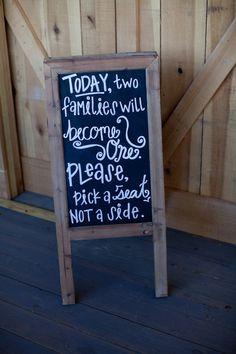 Fun Wedding Signs Wedding Reception