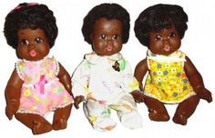 Why black dolls are so important, black is beautiful too