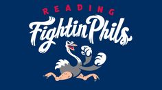The Fightins' new name is highlighted by an ostrich logo that symbolizes the feisty bird that is now indigenous to Reading because of the Crazy Hot Dog Vendor. With its fists ready for battle, the new ostrich logo represents the fighting spirit of the franchise, both on and off the field. It will be the first time in the franchise's history that the team will feature an identifiable mascot. The logo is also the first in professional sports to feature an ostrich as its mascot.