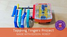 LEGO Tapping Fingers with Edison Robot