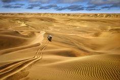 Um mar de areia