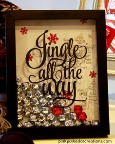 Jingle All The Way Picture by Pink Polka Dot Creations