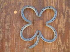 Horse Shoe Four Leaf Clover - Country Western Home Decor