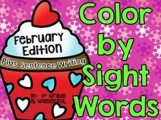 FREEBIES in the PREVIEW! This packet is FILLED with many different themes for the month of February! GREAT FOR WORD STUDY and LITERACY CENTERS!