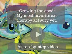 Combine art therapy, writing, and positive neuroplasticity and you get a wonderful art therapy activity that is particularly relevant for our time. The stress and fear entering my office every day have increased exponentially. The worry on my clients' faces has tightened its grip. The overwhelm