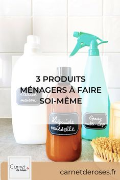 Cleaning Recipes, Diy Cleaning Products, Cleaning Hacks, Cleaning Supplies, Eco Friendly House, Diy Scrapbook, Diy Projects To Try, Spray Bottle, Logs
