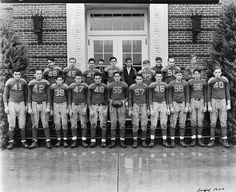 Delaware Football.  Seaford High School Football Team 1940.