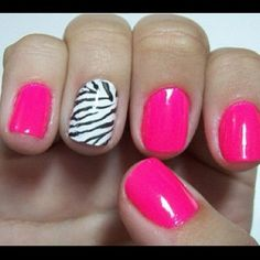 I like this, but that's the wrong color pink to go with the accent.