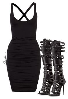 Untitled #131 by ameliarosealice on Polyvore featuring polyvore, fashion, style, Giuseppe Zanotti and clothing