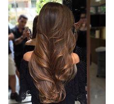 Long brunette hair inspiration Long Hair Styles, Instagram, Beauty, Beleza, Long Hairstyle, Cosmetology, Long Hairstyles, Long Hair Cuts, Long Hair Dos