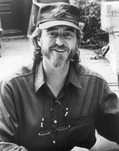 Wes Craven filming The People Under The Stairs in 1989.