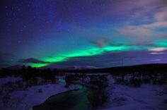 Arch Aurora, Whitehorse, Yukon Territory, Canada.