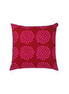 Marimekko's holiday mood: Puketti cushion cover, pattern design by Annika Rimala for Marimekko