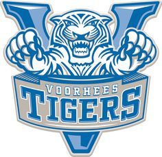 Tigers, Voorhees College (Denmark, South Carolina), Div I, Association of Independent Institutions #Tigers #Denmark #NAIA (L12552)