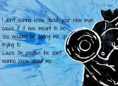 I dont wanna know about your #New Man;)) lyrics by Ed Sheeran from his album Divide #sheerio♥️