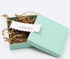 Small Packages Baby Shower