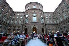 Il cortile di Palazzo Carignano, #Torino