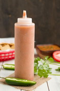 Mexican Red Table Sauce - Salsa Roja - Recipe --- Nothing beats Jesus' red sauce but I'm willing to try this Easy Homemade Salsa, Homemade Sauce, Salsa Roja Recipe Mexican, Mexican Burrito Sauce Recipe, Red Taco Sauce Recipe, Mexican Chili Oil Recipe, Red Sauce, Recipe Recipe, Mexican Cooking