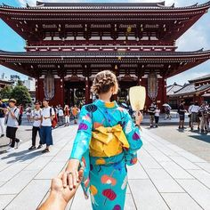 277. #followmeto Senso-ji Temple with @natalyosmann. It is one of the oldest and most significant temples in Tokyo.
