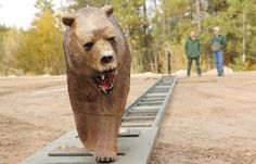 Robot 'Charges' To Test Your Bear Spray Skills