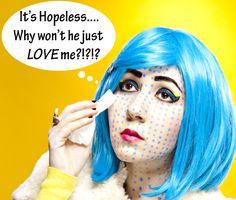 Roy Lichtenstein, Halloween Fashion, Halloween Makeup, Halloween Party, Cosplay Makeup, Costume Makeup, Comic Book Makeup, Pop Art Makeup, Colorful Eye Makeup