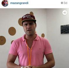 "O Marcelo Zangrandi, o ié ié do Panico na Band, usando a nossa polo ""Remix"".  http://loja.loopy.com.br/ #loopy #loopyoficial #vesteloopy #loopyteam #regram"