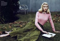 Gap-Toothed Girls and Why We LOVE Lara Stone   ilikeiwishiheart