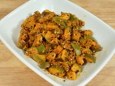"""Mango pickle is a spicy and tangy condiment. Almost every Indian household has their own favorite recipes for Mango Pickle. It is a popular condiment adds the extra """"oomph"""" to every meal."""