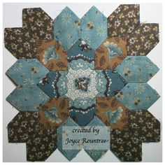 Lucy Boston POTC block designed & created by Joyce Rountree