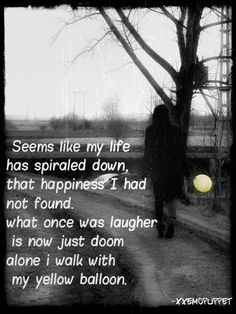 sad emo quotes about life | Jeannie (Xxemopuppet) Sad,emo,sadness Picture Quotes