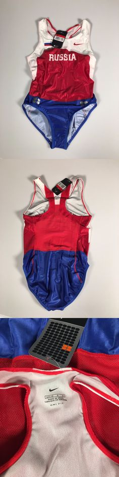 Track Suits 59339: Nike Russian Team Running Suit, Swift Skinsuit. New With Tags Sz S And L BUY IT NOW ONLY: $135.0