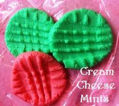 A simple no-bake cream cheese mints recipe: perfect for holidays, weddings, baby showers, and desserts!