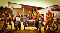 Omg this was their motorcycle gang. Love this show.Porter Ridge coming back on November 5th