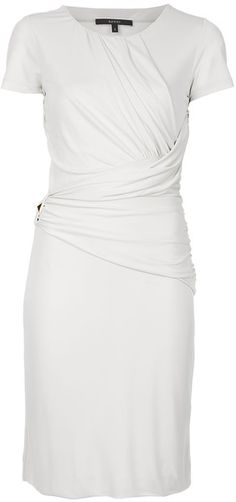 GUCCI Draped Front Dress. Something like this would be cute for the office and would look good on many body types.
