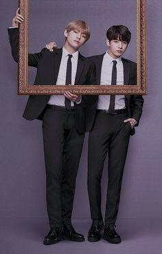 V and Jungkook...