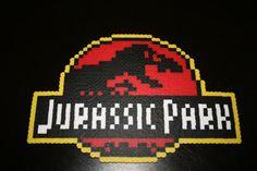 Décoration maison Logo de Jurassic Park par PixelCloset sur Etsy