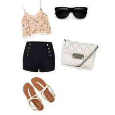 Tenue by chouquette-oreo on Polyvore featuring polyvore, beauté, Topshop, Azalea and Aéropostale