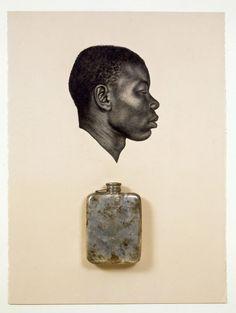'Kin IX (To Make Your False Heart True)', 2008 by Whitfield Lovell