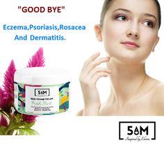 """""""Good Bye"""" - Eczema, Psoriasis, Rosacea, And Dermatitis. https://www.5-am.co/eczema-psoriasis-cream"""