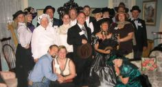 We have the most fun on our Murder Mystery weekends!