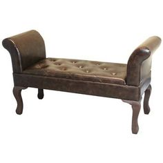 Alcott Hill Methuen Faux Leather Bed-End Bench Smart Furniture, Entryway Furniture, Furniture Deals, Living Room Furniture, End Of Bed Bench, Bed End, Leather Bench, Upholstered Bench, Upholstery