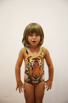 Tiger swimsuit!